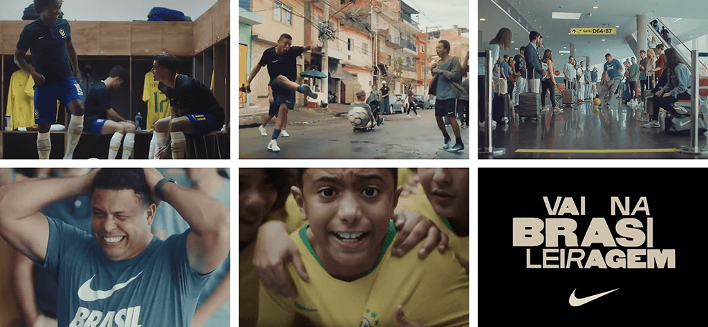 Nike world cup advertising campaign