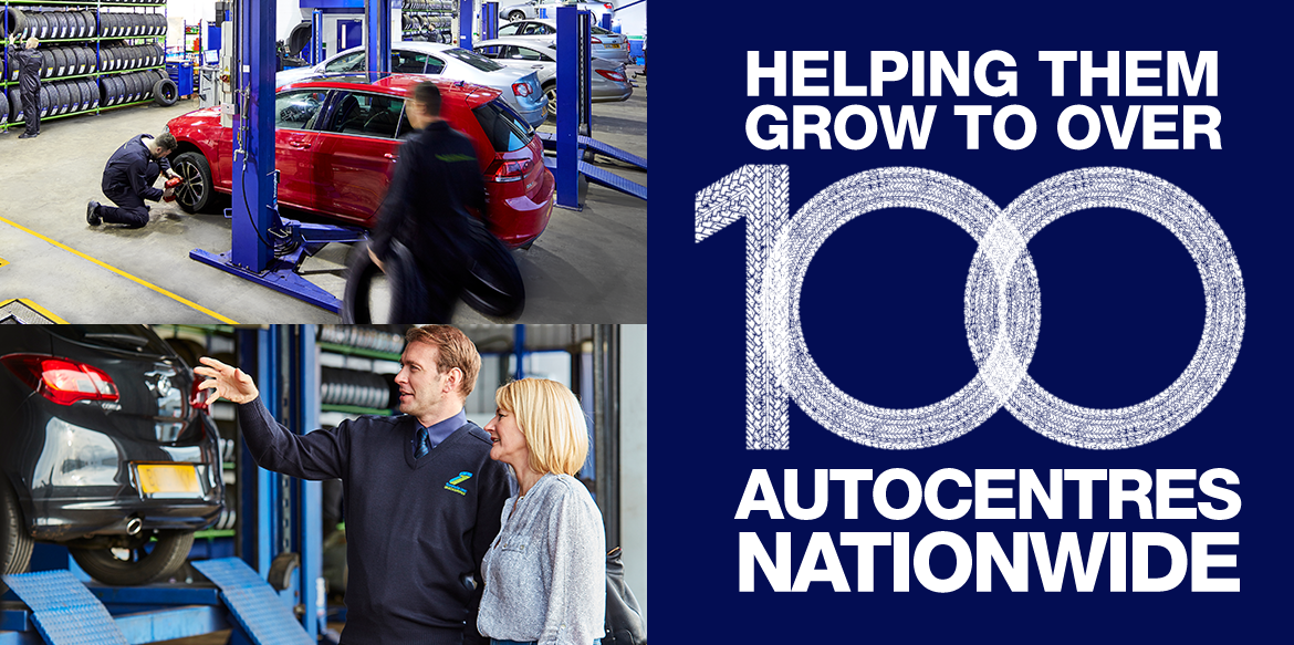 Helping them to grow 100 Autocentres worldwide
