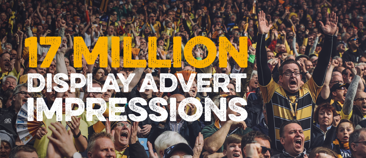 17 million display advert impressions