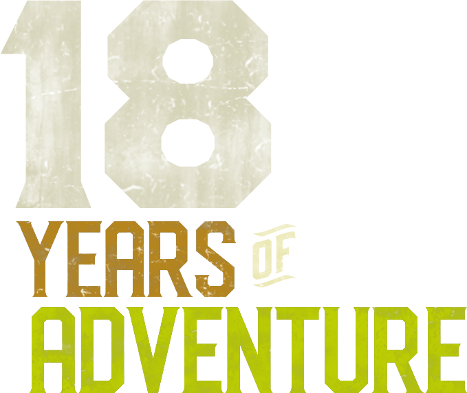 18 Years of adventure